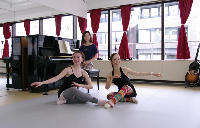ピアノでバレエ
