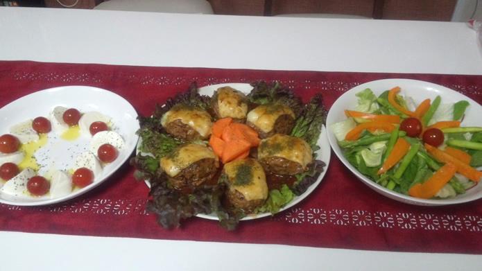 バレリーナの晩ご飯