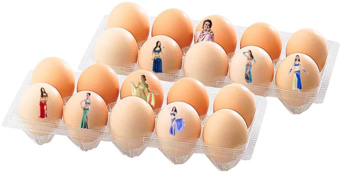 ベリーダンス卵